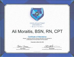CoolSculpting® University Masters Certificate