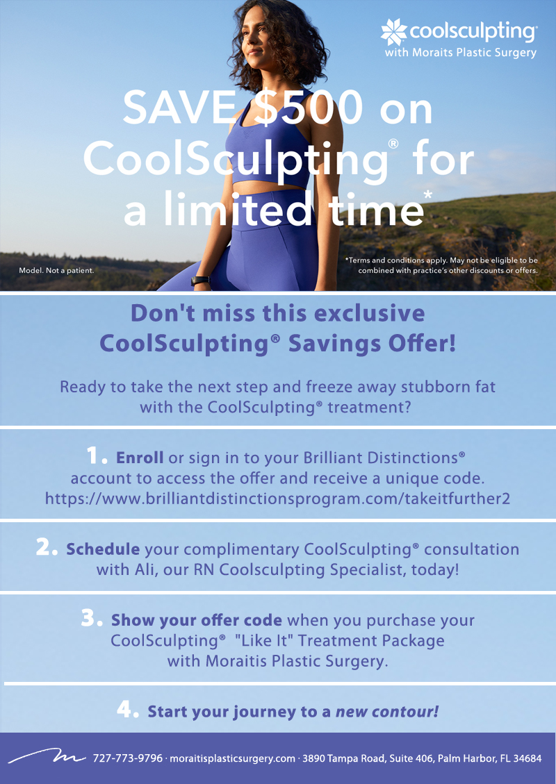 CoolSculpting 500 Take It Further Flyer